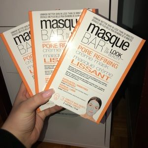 BRAND NEW PORE REFINING FACE MASKS EACH HAS 3 INCL